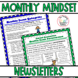 Growth Mindset & Character Education Monthly Newsletters f