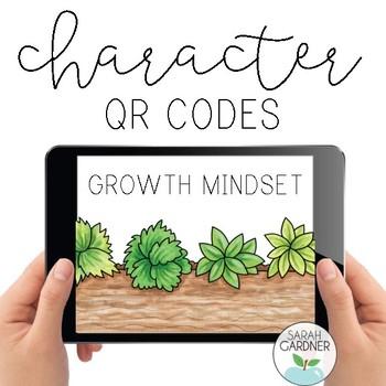 Growth Mindset Character Education QR Code Exploration