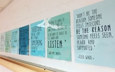Growth Mindset/Character Motivational Posters