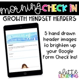 Growth Mindset Check In Headers