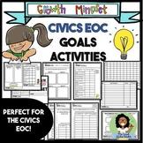 Growth Mindset Civics EOC Data Analysis and Goals Activity