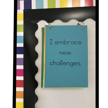 Growth Mindset Classroom Affirmations