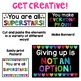 Growth Mindset Classroom Banners and Posters