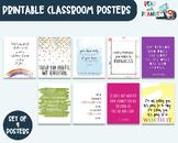 Growth Mindset Classroom Decor, Classroom Wall Art, Classr