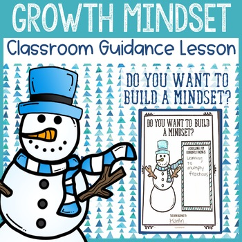 Growth Mindset Classroom Guidance Lesson -  School Counseling