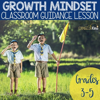 Growth Mindset Classroom Guidance Lesson for Elementary School Counseling