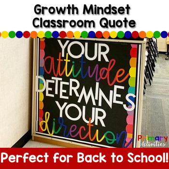 Growth Mindset Classroom Quote