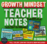 Growth Mindset Teacher Notes