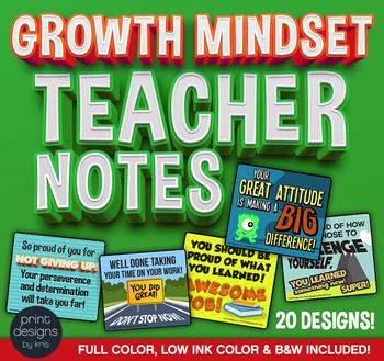Growth Mindset Teacher Notes