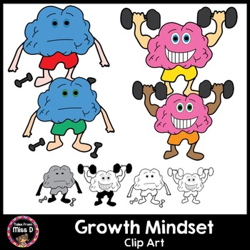 Growth Mindset Clip Art