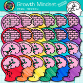 Growth Mindset Clip Art {Psychology and Cognition Graphics