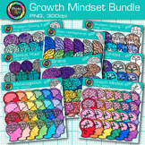 Growth Mindset Clip Art Bundle {Photo Clipz}