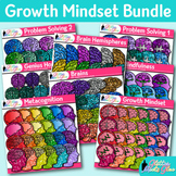 Growth Mindset Clip Art Bundle: Psychology Graphics {Glitter Meets Glue}