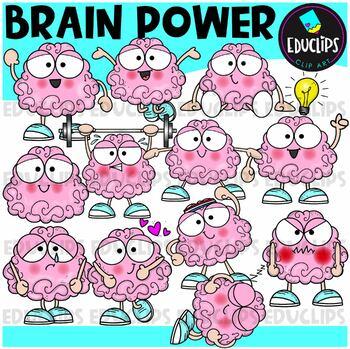 Growth Mindset Clip Art Super Bundle {Educlips Clipart}