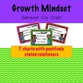 Growth Mindset Clip Chart