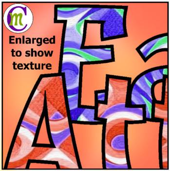 Growth Mindset Clipart Word Art Set 1