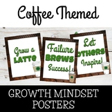 Growth Mindset Coffee Posters Theme Starbooks