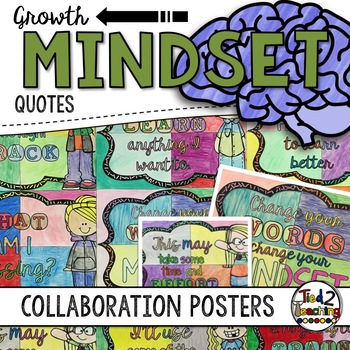 Growth Mindset Collaborative Posters