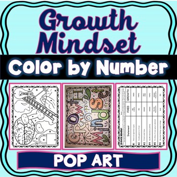 Growth Mindset Color by Number : Fixed or Growth Mindset?