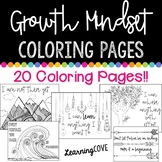 Growth Mindset Coloring Pages - 20 Pages!