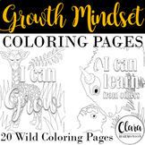 Growth Mindset Coloring Pages | Growth Mindset Activity