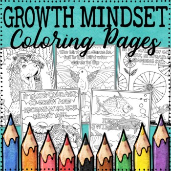 Animal Coloring Pages | Growth Mindset Coloring Pages