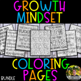 Growth Mindset Coloring Pages BUNDLE