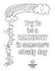 Growth Mindset Coloring Pages - Back to School Kindness Bulletin Boards - A4