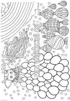 Growth Mindset Coloring Pages Coloring Doodles!
