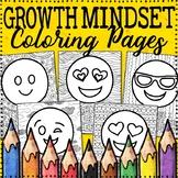 Growth Mindset Coloring Pages | Emoji Theme | 10 Fun, Crea