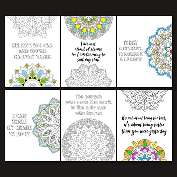 Growth Mindset Coloring Pages - Growth Mindset Activities