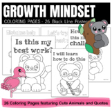Growth Mindset Coloring Pages / Self Esteem Activities / C