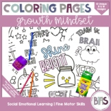 Growth Mindset Coloring Pages | Social Emotional Learning