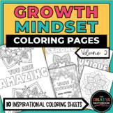 Distance Learning | Growth Mindset Coloring Pages Vol 2 |