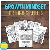 Growth Mindset: Coloring Sheets FREE UPDATES
