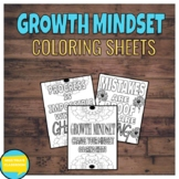 Growth Mindset Coloring Sheets FREE