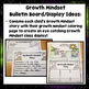 Growth Mindset Coloring and Writing Activities K-2 Bulletin Board Display