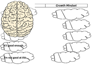Growth Mindset Colouring Page