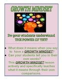 Growth Mindset Comparisons Lesson