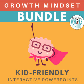 Growth Mindset Complete Bundle | Interactive PowerPoints