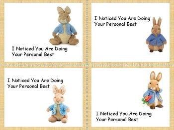Growth Mindset Compliment Cards