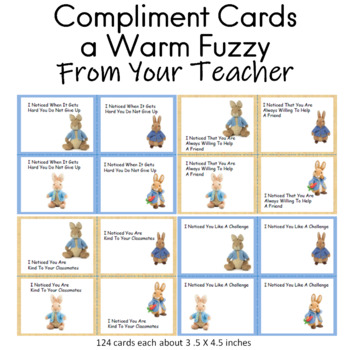 Spring Compliment Cards