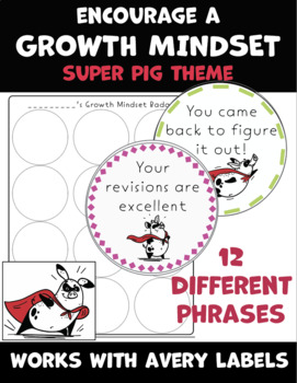 Growth Mindset Coupons / Badges Set 2