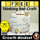 Growth Mindset Craft Thinking Hat