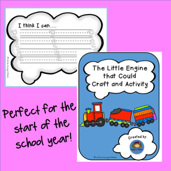 Growth Mindset Craftivity and Writing Duo