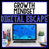 Growth Mindset DIGITAL ESCAPE ROOM for Google Drive® | Distance Learning