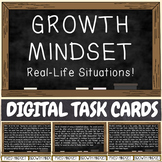 Growth Mindset - DIGITAL TASK CARD GAME