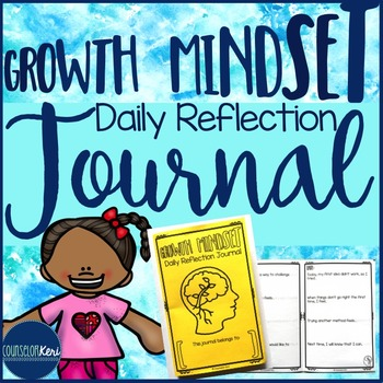 Growth Mindset Daily Journal - Elementary School Counseling