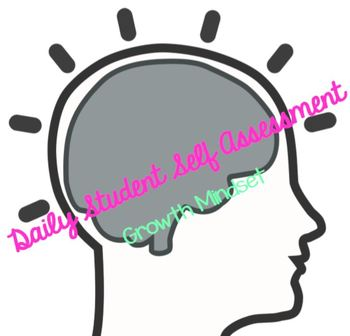 Growth Mindset: Daily Student Self-Assessment