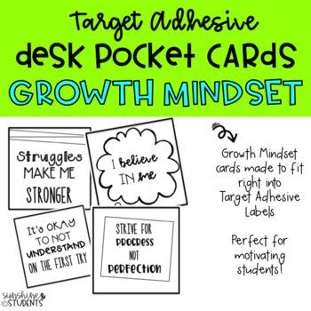 Growth Mindset Desk Pockets